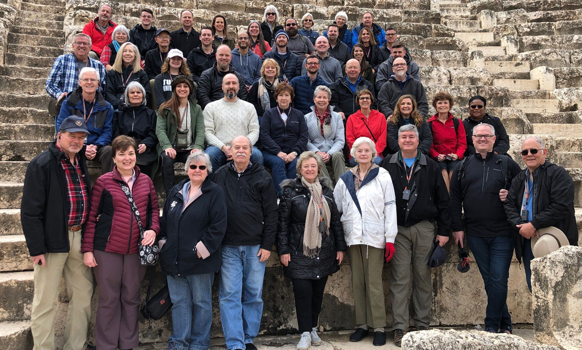 New Testament students in Israel